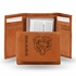 Wallet - Tri-Fold - Embroidered Leather - Chicago Bears