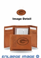 Wallet - Tri-Fold - Embroidered Leather - Green Bay Packers