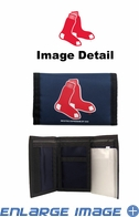 Wallet - Tri-Fold - Nylon - Boston Red Sox