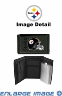 Wallet - Tri-Fold - Nylon - Pittsburgh Steelers