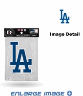 Window Graphic - Die-Cut Static Cling  - Los Angeles Dodgers