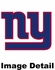 Window Graphic - Die-Cut Static Cling  - New York Giants