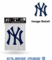Window Graphic - Die-Cut Static Cling  - New York Yankees