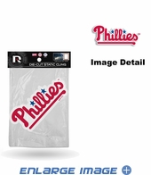 Window Graphic - Die-Cut Static Cling  - Philadelphia Phillies