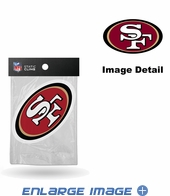 Window Graphic - Die-Cut Static Cling  - San Francisco 49ers