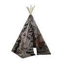6 Ft Hideaway Camouflage Tank 5 Panel Teepee