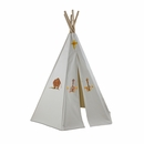 6ft Create-My-Own Great Plains Teepee w/ Washable Markers