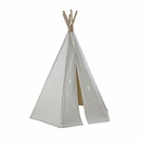 6ft Great Plains Teepee w/ Glow in the Dark Stars