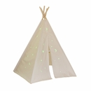 6ft Hideaway Five Panel Teepee w/ Glow in the dark Stars