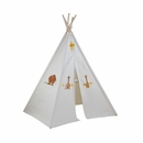6ft Hideaway Five Panel Teepee w/ Washable Markers