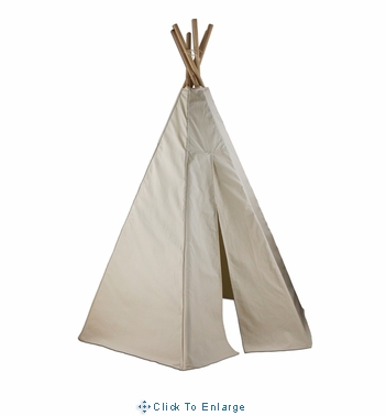 7.5ft Great Plains Indian Teepee Kids Play Tent