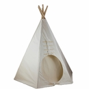 7.5ft Powwow Lodge Round Door Teepee (6 Panel)