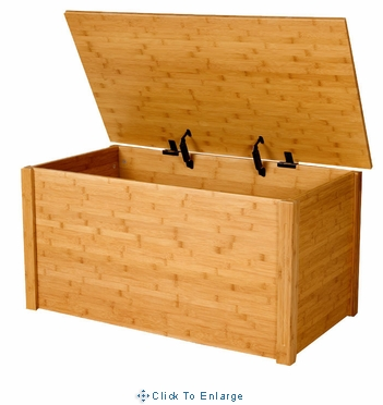 Bamboo Toybox/Blanket Toy chest