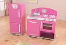 Bubblegum Retro Kitchen Oven & Refrigerator Set