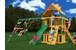 Chateau Clubhouse Cedar Swing Set