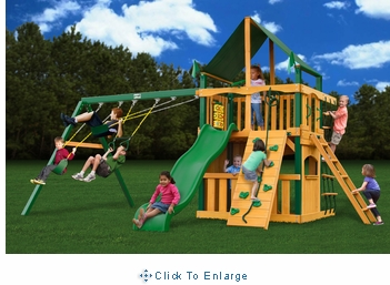 Chateau Clubhouse Supreme CG Cedar Swing Set