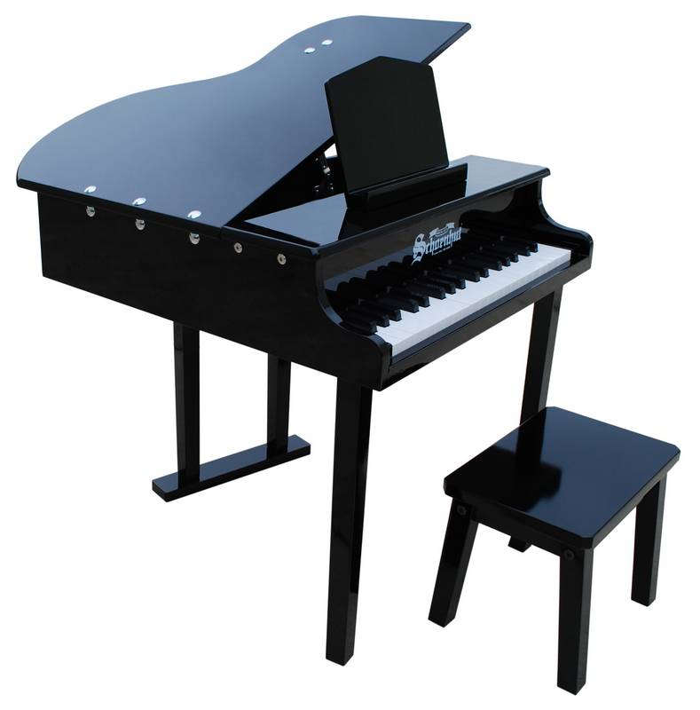 Children\'s Piano - 37 Key Concert Grand Piano with Opening Top by ...