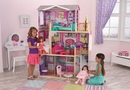 Elegant 18-inch doll manor w/ 12 pc Doll Furniture