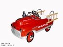 Fire Engine Comet Pedal Car