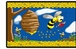 Flagship Kids Carpets-Busy Bees Kids Educational Rug