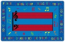 Fun With Music Kids Educational Rug