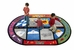 Flagship Kids Carpets-Weather Today Kids Educational Rug