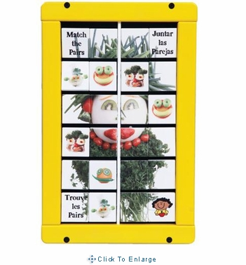 FOOD MATCH UP Wall Game Wall Toy