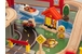 Honey metropolis table and 100 pc train set w/ Trundle