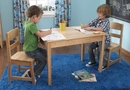 KidKraft Rectangle Table & 2 Chair Set, Natural or Espresso