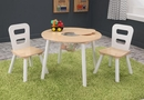 Kidkraft Round Storage Table & 2 Chair Set