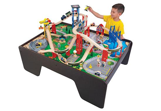 Good KidKraftu0027s Super Expressway Train Set U0026 Table  sc 1 st  Home Design Ideas & Kidkraft Table Set - Home Design Ideas and Pictures