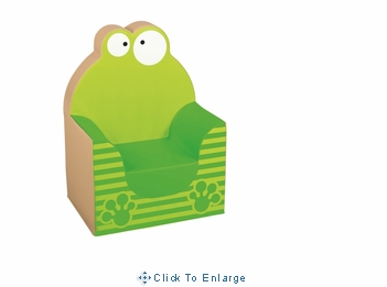 Kids Animal Club Armchair Frog By Wesco