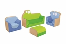 The Cow and Frog Lounge Club Kids Armchair Kit By Wesco By Wesco