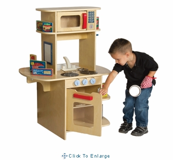 Kids Pretend Play-Cafe Play Kitchen