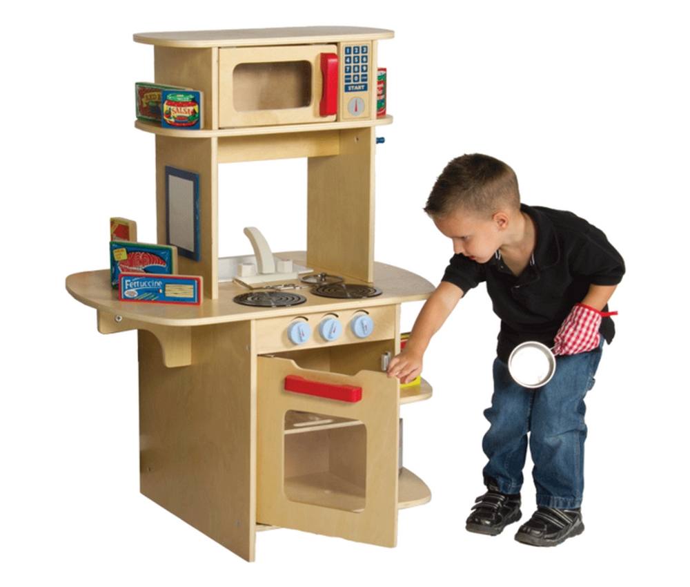 Kids Pretend Play Cafe Play Kitchen Free Shipping