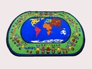 Kids World Carpets-All Together Children's Educational Rug