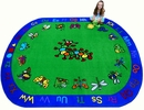 Kids World Carpets-Kritters Children's Educational Rug