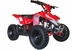 MotoTec 24v Mini Quad v3 Kids ATV Red