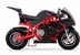 MotoTec Cali 36v Electric Pocket Bike Red