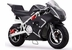 MotoTec Cali 36v Electric Pocket Bike White