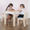 P'kolino Furniture Little One's Table and Chairs  - White