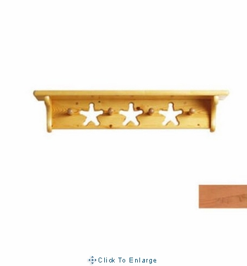 Peg Shelf in Heart or Star Cut out w/Variable Colors