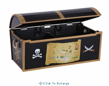 Pirate Treasure Toy Chest for Children