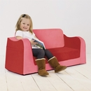 Pkolino New Little Sofa / Sleeper-Blue/Red/Green