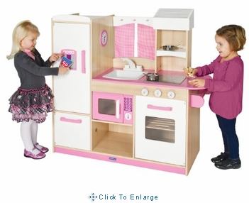 Play-Along Pink Kitchen