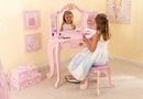 Princess Kids Vanity Table & Stool