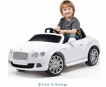Rastar Bentley GTC 12v White Kids Car (Remote Controlled)