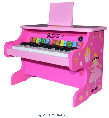 Schoenhut 25-key Electronic Piano Pink Princess