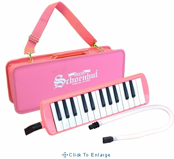 Schoenhut Puff-n-Play 25 Key Melodica-Pink or Blue