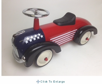 Scoot Along Car - USA Speedster